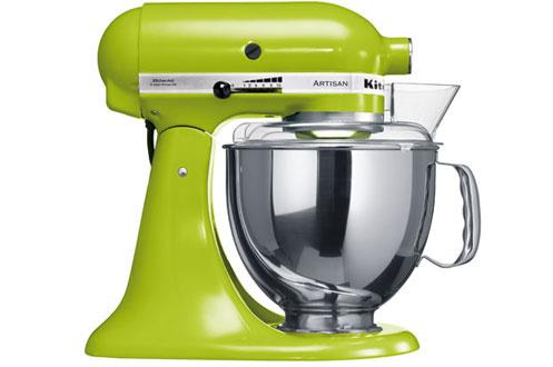 Robot patissier kitchenaid 5ksm150psega vert pomme 5ksm150psega 3456552 darty - Robot patissier fabrique en france ...