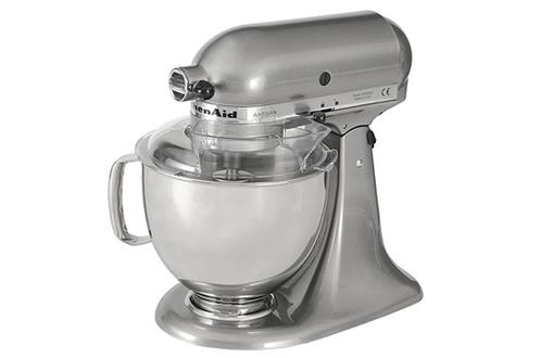 Robot patissier kitchenaid 5ksm150psems gris etain for Robot cuisine kitchenaid