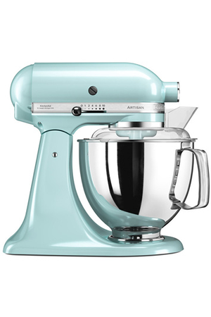 robot patissier kitchenaid artisan elegance 5ksm175pseic bleu glacier darty. Black Bedroom Furniture Sets. Home Design Ideas