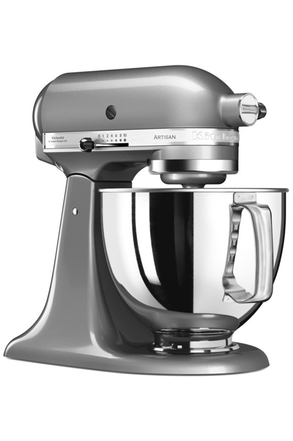 robot patissier kitchenaid artisan 5ksm125ecu gris argent darty. Black Bedroom Furniture Sets. Home Design Ideas