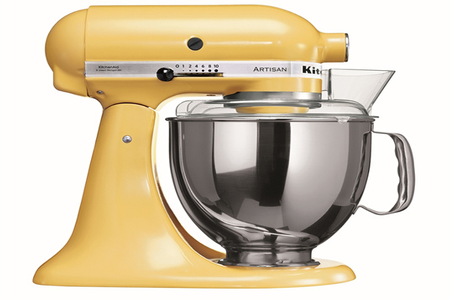 robot patissier kitchenaid artisan jaune pastel 5ksm150 psemy 5ksm150 darty. Black Bedroom Furniture Sets. Home Design Ideas