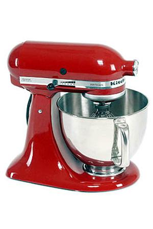Robot patissier kitchenaid 5ksm150pseer artisan rouge for Robot cuisine kitchenaid