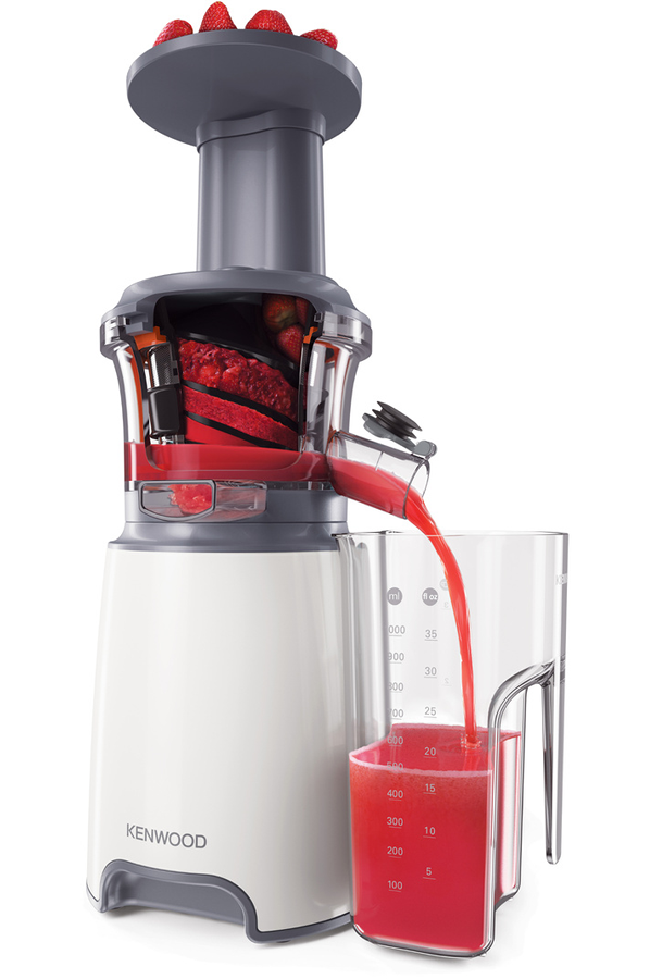 Extracteur de jus Kenwood JMP600WH Pure Juice - extracteur de jus Kenwood JMP600WH (4192478) Darty