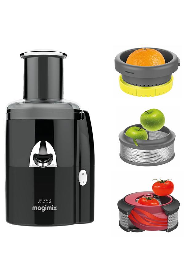 Extracteur de jus magimix juice expert 3 noir 4257634 darty - Extracteur de jus brandt ...