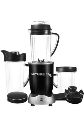Extracteur de nutriments - Design noir Puissance : 1700 Watts Pichet SouperBlast - 2 gobelets Livre de recettes fourni