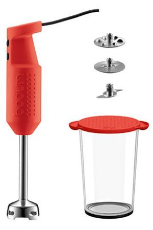 pied mixeur bodum bistro rouge 11179 294 darty. Black Bedroom Furniture Sets. Home Design Ideas
