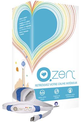 Capteur connecté O.ZEN Capteur et programme santé/bien-être intelligent Ubisoft