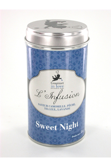 Thé INFUSION SWEET NIGHT Gourmet In Love