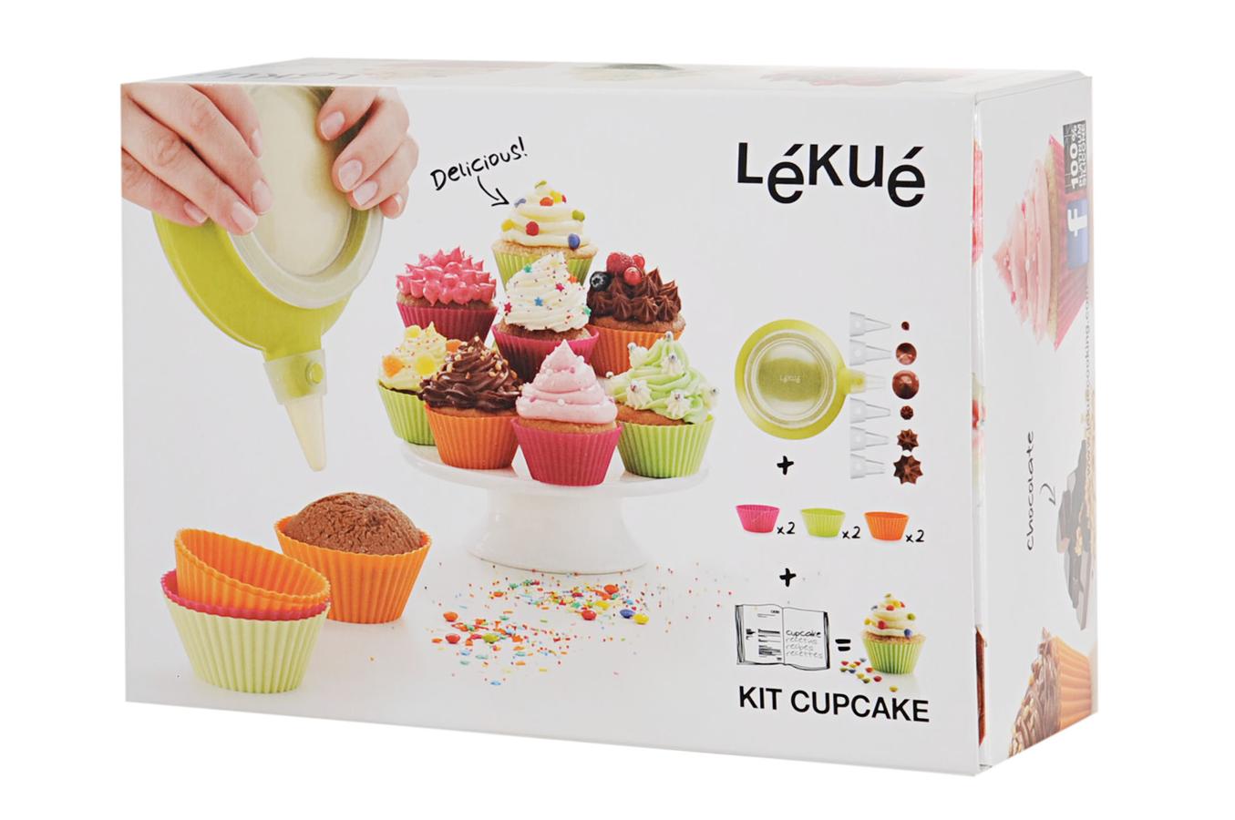 Coffret cuisine lekue coffret cupcake 3000004surm017 - Coffret livre de cuisine ...
