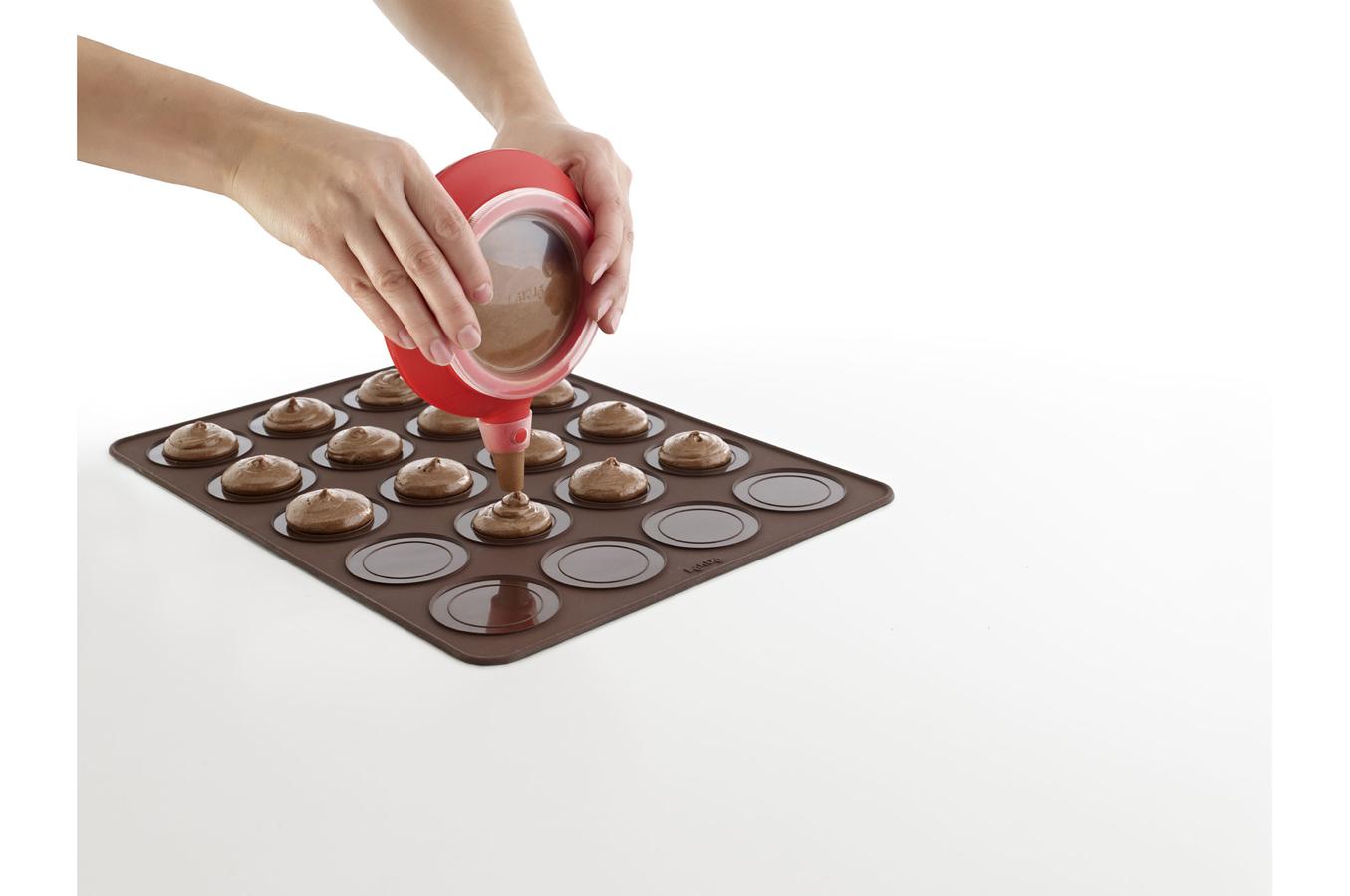 coffret cuisine lekue kit grands macarons whoopie 1360353 darty. Black Bedroom Furniture Sets. Home Design Ideas