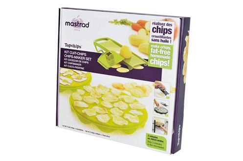 coffret cuisine mastrad cuit chips x2 mandoline f64710 1346903. Black Bedroom Furniture Sets. Home Design Ideas