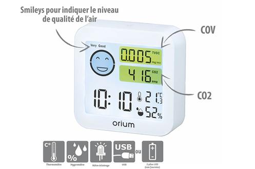 Mesureur de qualité de l'air intérieur Quaelis 20