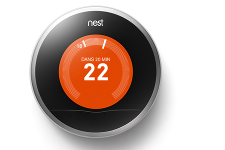 Thermostat connect nest learning thermostat nest - Thermostat connecte nest ...