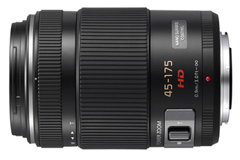 Objectif photo Lumix G Vario 45 - 175 mm f/4.0 - 5.6 ASPH. O.I.S. Premium X Panasonic