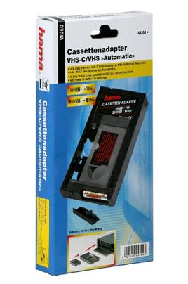 cassette cam scope hama adaptateur vhsc vhs adapt vhsc vhs 1155237. Black Bedroom Furniture Sets. Home Design Ideas