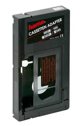 cassette cam scope hama adaptateur vhsc vhs adapt vhsc. Black Bedroom Furniture Sets. Home Design Ideas