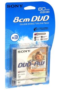 DVD 8 cm 3DMW60AJ-B 2+1 Sony