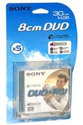 Sony DVD+RW 8CM 30MN X5