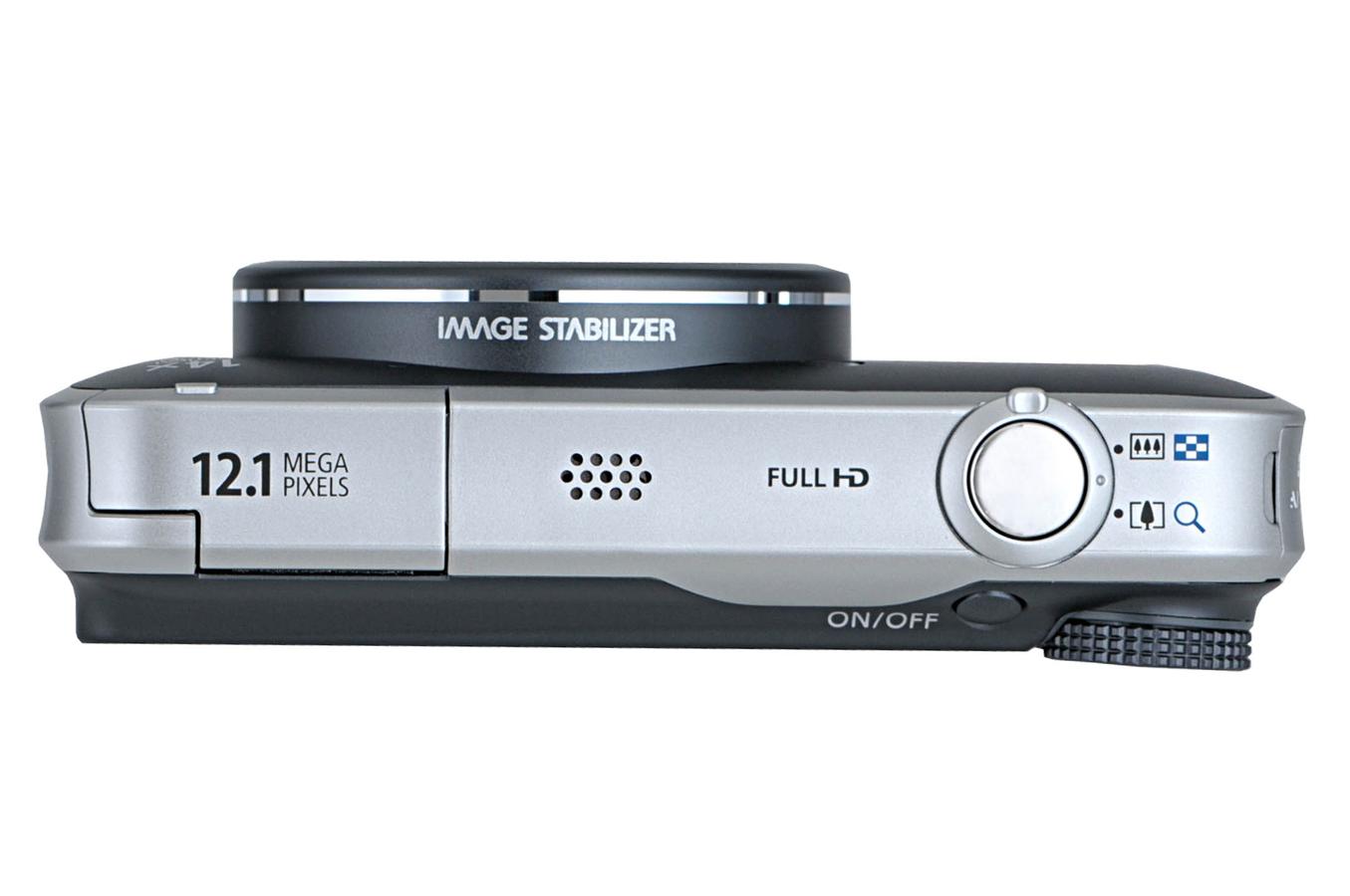 appareil photo compact canon sx 220hs gris 3408124 darty. Black Bedroom Furniture Sets. Home Design Ideas
