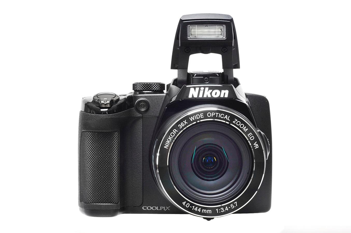 appareil photo compact nikon coolpix p500 noir 3405010. Black Bedroom Furniture Sets. Home Design Ideas