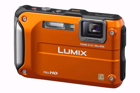 appareil photo compact panasonic lumix dmc ft3ef d orange darty. Black Bedroom Furniture Sets. Home Design Ideas