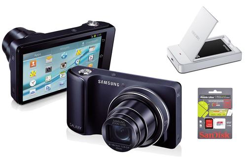 Samsung GALAXY CAM NOIR + CHARGEUR + BATTERIE