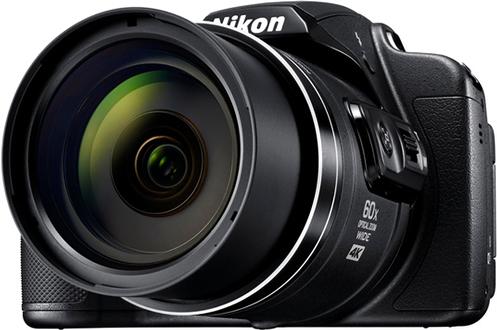 Capteur CMOS 1/2,3 de 20.3 Millions de pixels Ecran ACL TFT orientable de 7,5 cm - Viseur électronique Vidéo UHD 4K 30p - Connectivité Wifi, NFC, SnapBridge Zoom optique 60x - Réduction de vibration optique à double détection
