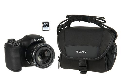 Sony DSC-H300 + HOUSSE + SD 4GO