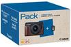 Appareil photo hybride PACK EOS M10 Noir + EF-M 15-45 mm IS STM + Demi étui + SD 8 Go Canon