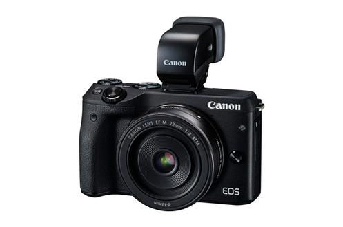 Appareil photo hybride EOS M3 + EF-M 18-55 IS STM + viseur électronique EVF-DC1 Canon