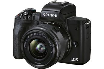 Appareil photo hybride Canon Kit pour Vlogging EOS M50 Mark...