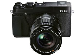 Appareil photo hybride X-E2 NOIR + XF 18-55mm Fujifilm