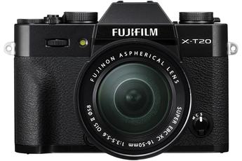 Appareil photo hybride X-T20 + XC 16-50MM F3.5-5.6 OIS II NOIR Fujifilm