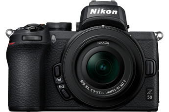 Appareil photo hybride Nikon Z 50 + 16-50mm + 50-250mm DX