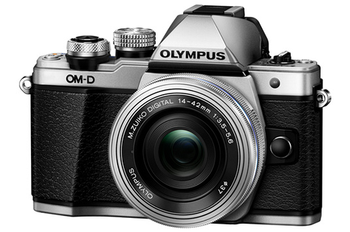 Appareil photo hybride OM-D E-M10 MARK II SILVER + 14-42mm pancake Olympus