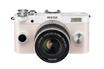 Appareil photo hybride Q-S1 BLANC + 5-15MM Pentax