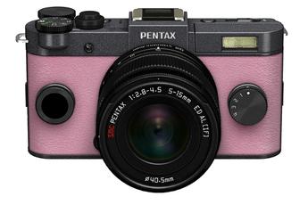 Appareil photo hybride Q-S1 GRIS METAL + 5-15MM Pentax