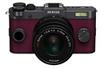 Appareil photo hybride Q-S1 GRIS METAL BORDEAUX + 5-15MM Pentax