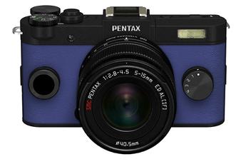 Appareil photo hybride Q-S1 NOIR BLEU + 5-15MM Pentax