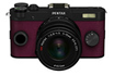 Appareil photo hybride Q-S1 NOIR BORDEAUX + 5-15MM Pentax