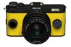 Appareil photo hybride Q-S1 NOIR JAUNE + 5-15MM Pentax
