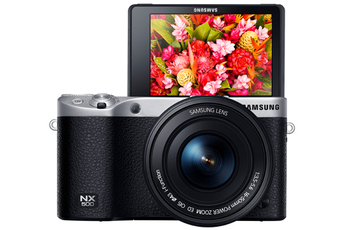Appareil photo hybride NX 500 NOIR + 16-50 MM Samsung