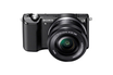 Appareil photo hybride A5000 NOIR + 16-50MM Sony