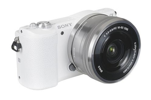 SONY Alpha 5100 + 16-50mm PZ Blanc  ILCE5100LW.CEC