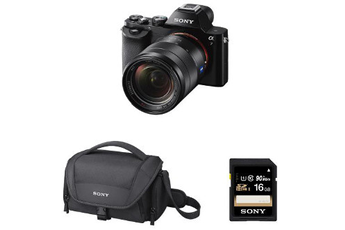 Appareil photo hybride KIT A7 + 28-70 MM F/3.5-5.6 + HOUSSE + SD 16 GO Sony