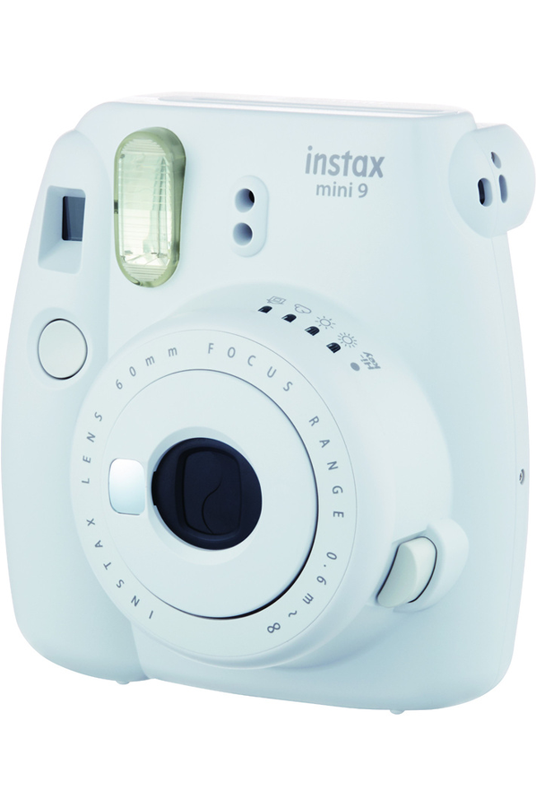 appareil photo instantan fujifilm instax mini 9 blanc cendr 4323165 darty. Black Bedroom Furniture Sets. Home Design Ideas