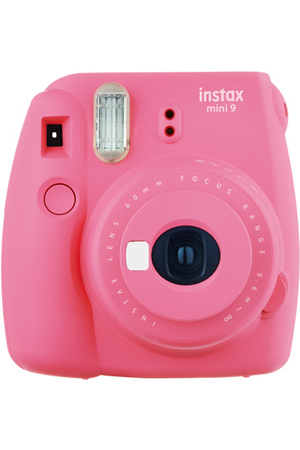 appareil photo instantan fujifilm instax mini 9 rose corail darty. Black Bedroom Furniture Sets. Home Design Ideas
