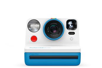 Polaroid Now Appareil Photo instantané i-Type Bleu et Blanc