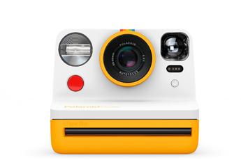 Polaroid Now Appareil Photo instantané i-Type Jaune et Blanc
