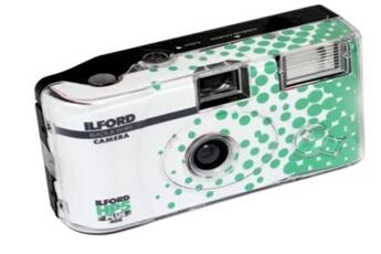 Appareil photo jetable Ilford. HP5+ NOIR & BLANC
